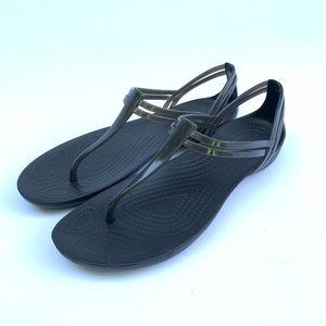 Crocs Isabella t strap sandal